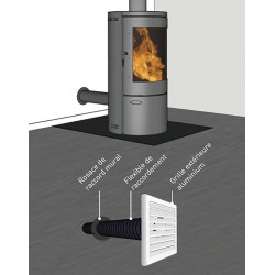 kit air frais flex diam 125