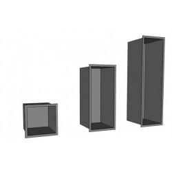 niche a bois design H1480 x...