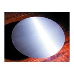 plaque de sol diam 800mm inox